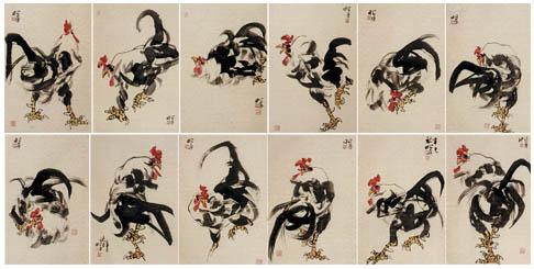 专业国画花鸟,能工笔,善写意,重传统,求新意,画风简洁明快,治画严谨